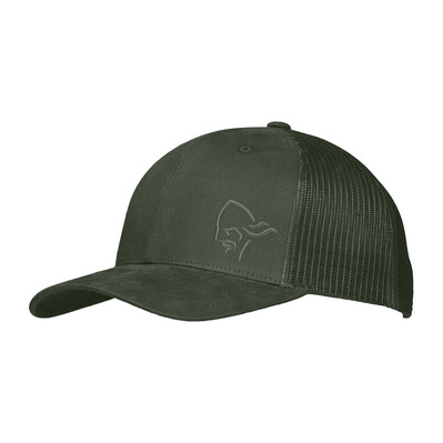 NORRONA - /29 TRUCKER MESH SNAP BACK - Casquette olive night