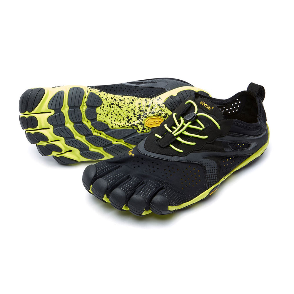 FIVE FINGERS - Vibram Five Fingers V-RUN Homme Noir/jaune