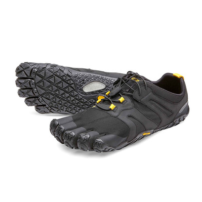 FIVE FINGERS - V-TRAIL 2.0 - Zapatillas de trail hombre black/yellow