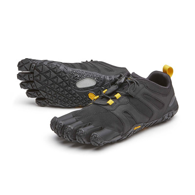 FIVE FINGERS - Vibram Five Fingers V-TRAIL 2.0 Femme Noir/jaune