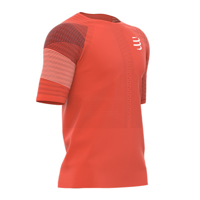 COMPRESSPORT - RACING - Jersey - Men's - orange sang