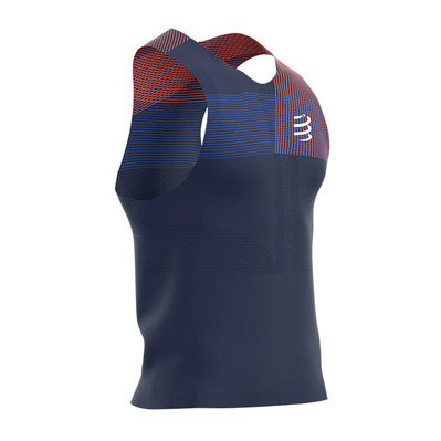 COMPRESSPORT - PRORACING - Maillot Homme blue