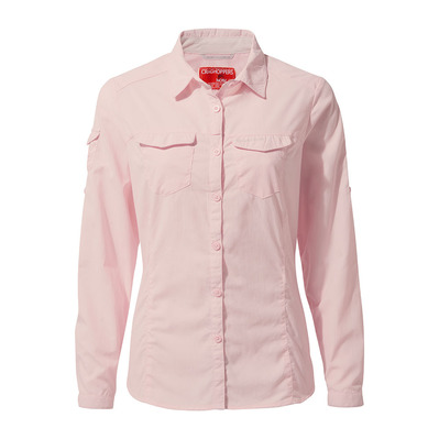 CRAGHOPPERS - ADVENTURE - Camisa mujer seashell pink