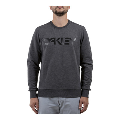 OAKLEY - B1B CREW - Sweat Homme blackout lt htr
