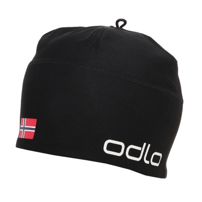 ODLO - POLYKNIT TEAM WARM - Beanie - black/norwegian flag