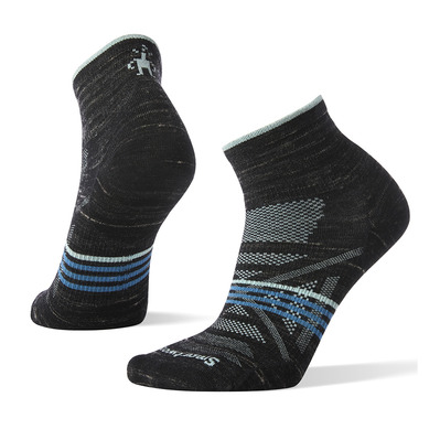 SMARTWOOL - PHD OUTDOOR ULTRA LIGHT MINI - Chaussettes Femme black heather