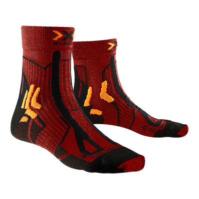 X-SOCKS - TRAIL ENERGY - Chaussettes sunset orange/noir