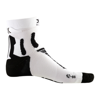 X-SOCKS - RUN PERFORMANCE - Socks - black marle/white