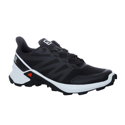 SALOMON - SUPERCROSS - Trail Shoes - Men's - black/white/black
