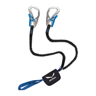 SALEWA - ERGO CORE - Pack absorbeur + mousquetons + longes silver/royal blue