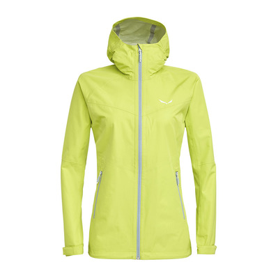 SALEWA - PUEZ AQUA 8 - Jacket - Women's - wild lime