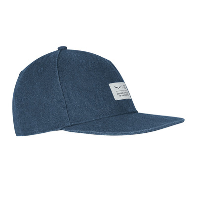 SALEWA - PUEZ CANVAS FLAT - Casquette dark denim