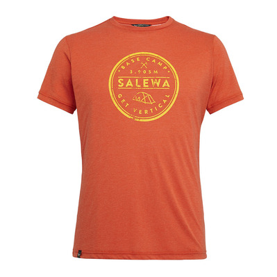 SALEWA - BASE CAMP - Camiseta hombre dawn melange