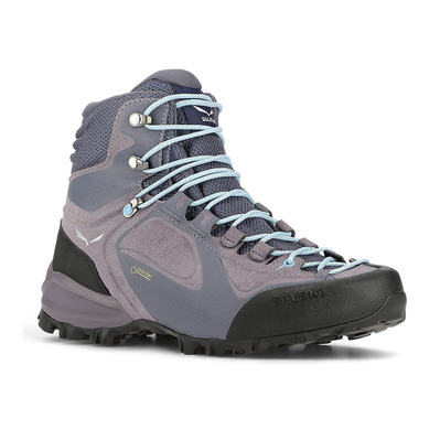 SALEWA - ALPENVIOLET GTX - Hiking Shoes - Women's - grisaille/ethernal blue
