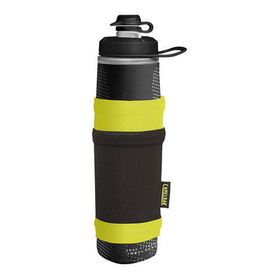 CAMELBAK - PEAK FITNESS CHILL - Botella 710ml + funda black/lime