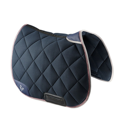 HORSE PILOT - AEROTECH - GP Saddle Pad - navy/misty grey