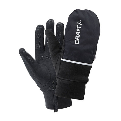 CRAFT - HYBRID WEATHER - Gants 2 en 1 black