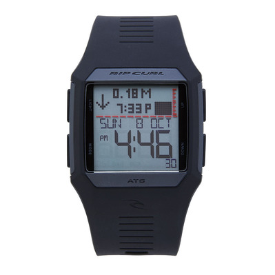 RIP CURL - RIFLES TIDE - Montre Homme black