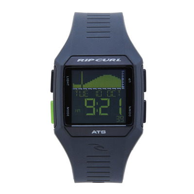 RIP CURL - Digital Watch - RIFLES MIDSIZE TIDE black/green