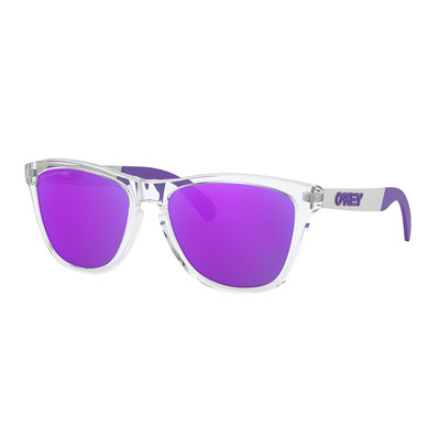 OAKLEY - FROGSKINS MIX - Occhiali da sole polarizzati polished clear/viola iridium