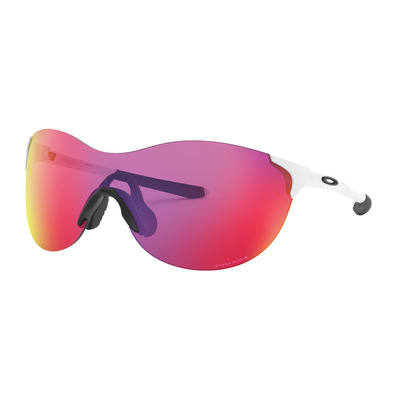 OAKLEY - EVZERO ASCEND - Lunettes de soleil polished white/prizm road