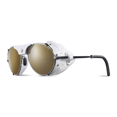 JULBO - CHAM - Sunglasses - chrome white/brown flash silver