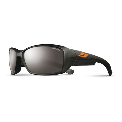 JULBO - WHOOPS - Sunglasses - matt black/flash silver