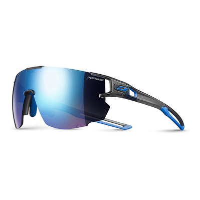 JULBO - AEROSPEED - Sunglasses - translucent grey blue/multilayer blue