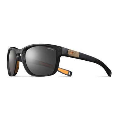 JULBO - PADDLE - Sunglasses - tranluscent black orange/smoke