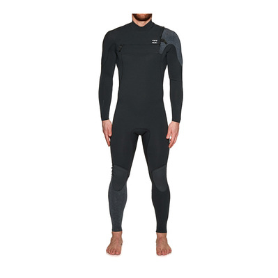BILLABONG - FURNACE CARBON COMP - Combinaison 3/2mm Homme black sands