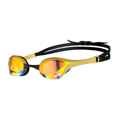ARENA - COBRA ULTRA SWIPE - Swimming Goggles - yellow copper/gold