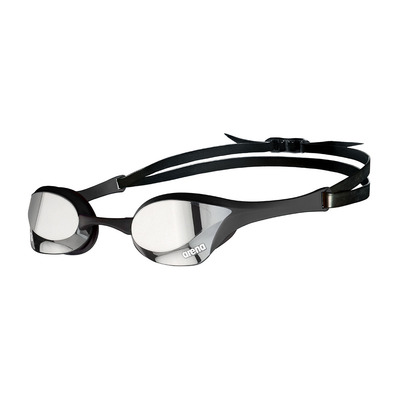 ARENA - COBRA ULTRA SWIPE MIRROR - Swimming Goggles - silver/black