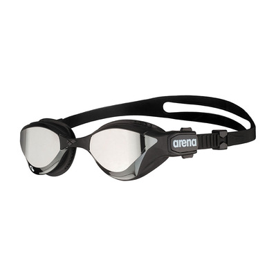 ARENA - COBRA TRI SWIPE MIRROR - Swimming Goggles - silver/black