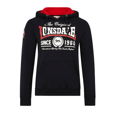 LONSDALE - Sudadera hombre WELLS black