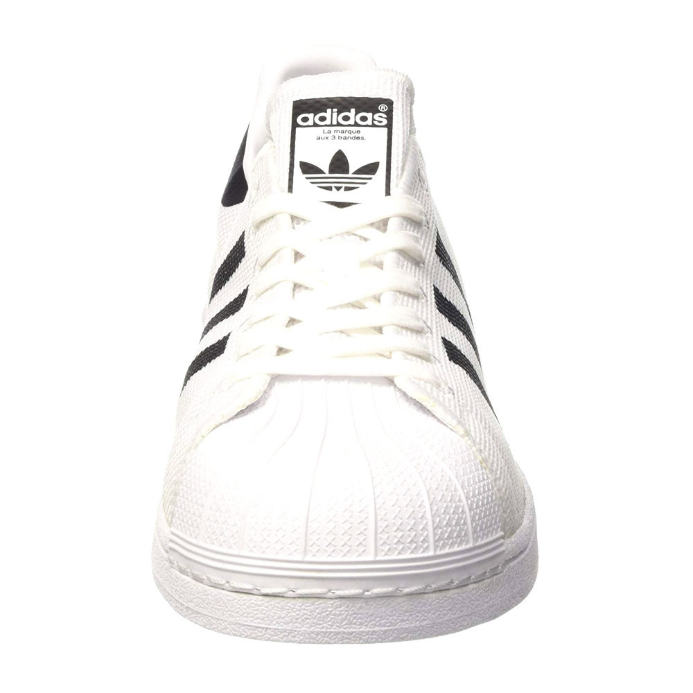 LES IMMANQUABLES Adidas SUPERSTAR Chaussures whiteblack