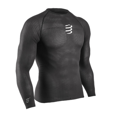 COMPRESSPORT - 3D THERMO - Sous-couche Homme black