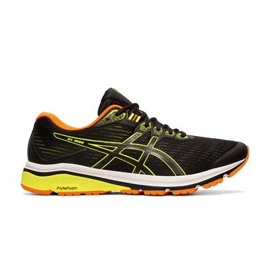 ASICS - GT-1000 8 BLACK/SAFETY YELLOW Homme