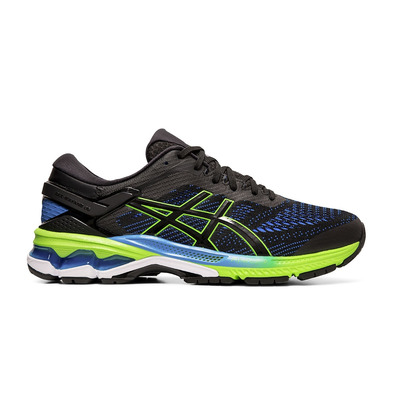 ASICS - GEL-KAYANO 26 BLACK/ELECTRIC BLUE Homme