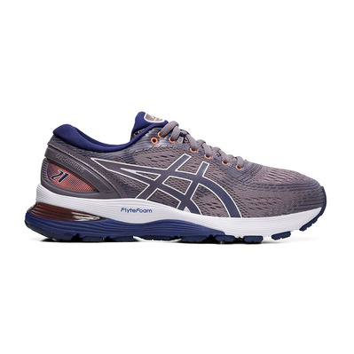 ASICS - GEL-NIMBUS 21 - Chaussures running Femme lavender grey/dive blue