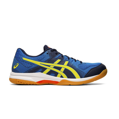 ASICS - GEL-ROCKET 9 - Zapatillas de vóleibol hombre electric blue/sour yuzu