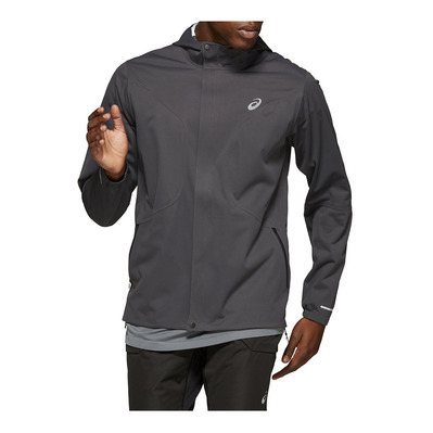 ASICS - ACCELERATE JACKET GRAPHITE GREY Homme