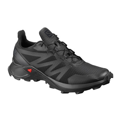 SALOMON - SUPERCROSS - Trail Shoes - Men's - black/black/black