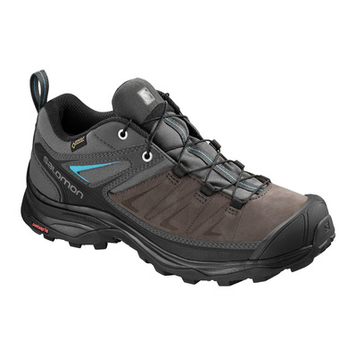 SALOMON - X ULTRA 3 LTR GTX - Hiking Shoes - Women's - magnet/phantom/bluebird