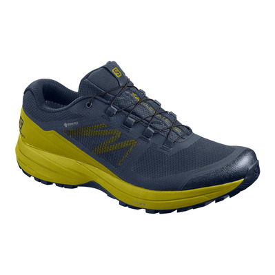 SALOMON - XA ELEVATE 2 GTX - Trail Shoes - Men's - navy blazer/navy blazer/citronella