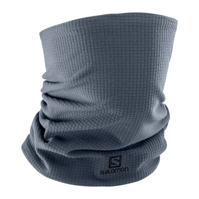 SALOMON - RS WARM - Neck Warmer - ebony/black