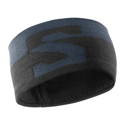 SALOMON - ORIGINAL - Headband - ebony/black/white