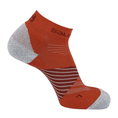 SALOMON - SPEED PRO - Chaussettes biking re/fiery red