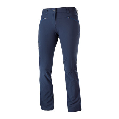 SALOMON - WAYFARER STRAIGHT - Pantaloni Donna night sky