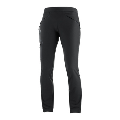 SALOMON - WAYFARER AS TAPERED - Pantalon Femme black