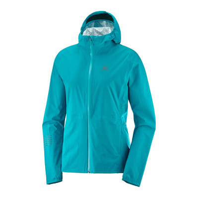 SALOMON - LIGHTNING WP - Jacket - Women's - tile blue
